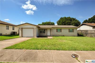 Copperas Cove Single Family Home For Sale: 2723 Live Oak Drive