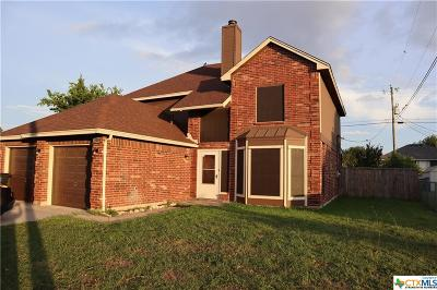 Killeen Single Family Home For Sale: 5004 Bending Trail