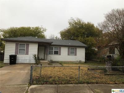 Killeen Single Family Home For Sale: 409 Short Avenue