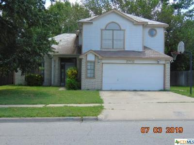 Killeen Single Family Home For Sale: 2702 Willow Springs Road