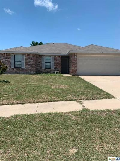 Copperas Cove Single Family Home For Sale: 1312 Travis Circle