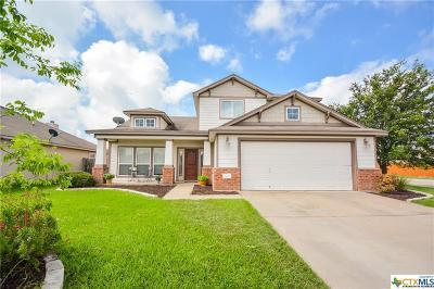 Temple, Belton Single Family Home For Sale: 7827 Honeysuckle