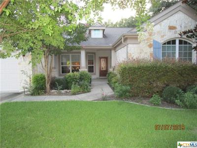 Single Family Home For Sale: 106 Llano Cove