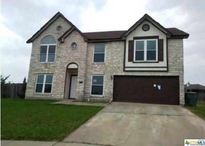Killeen Single Family Home For Sale: 4902 Misty Circle