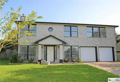 Killeen Single Family Home For Sale: 2810 Bluejay Drive