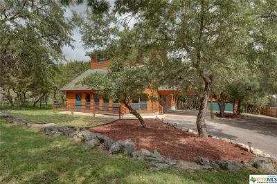 Canyon Lake Single Family Home For Sale: 215 Campbell Drive