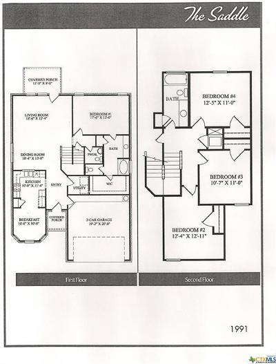 Killeen Single Family Home For Sale: 2209 Sea Eagles Drive