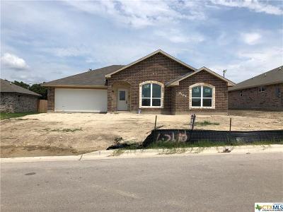 Killeen Single Family Home For Sale: 6109 Cactus Flower Lane
