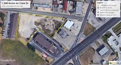 Copperas Cove Residential Lots & Land For Sale: 1.248 Acres On Casa Drive