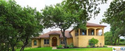 New Braunfels Single Family Home For Sale: 662 Winding View