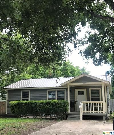 New Braunfels Single Family Home For Sale: 337 N Central Avenue