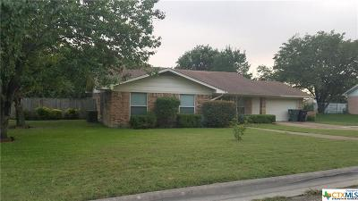 Temple Single Family Home For Sale: 3222 Camellia Circle