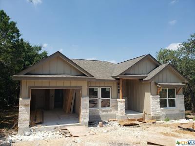 Canyon Lake Single Family Home For Sale: 875 Canyon Edge