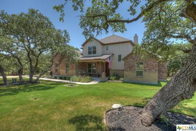 New Braunfels Single Family Home For Sale: 198 Winding View