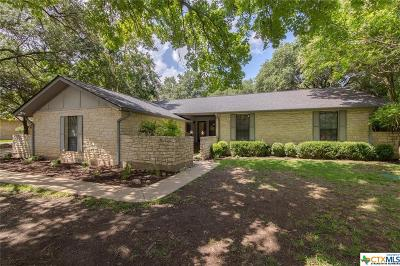 Salado Single Family Home For Sale: 1606 Chisholm Trail
