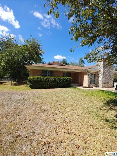 Killeen Single Family Home For Sale: 1007 Trimmier Road