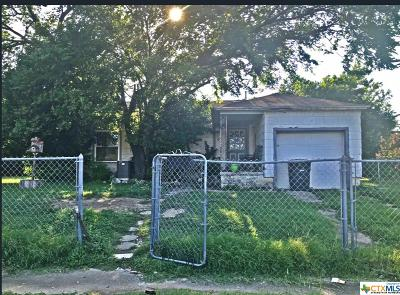 Killeen Single Family Home For Sale: 901 Conder Street