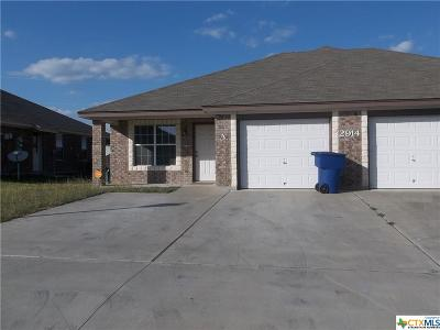 Copperas Cove TX Single Family Home For Sale: $189,000