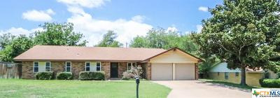 Harker Heights Single Family Home For Sale: 1708 Elk Trail
