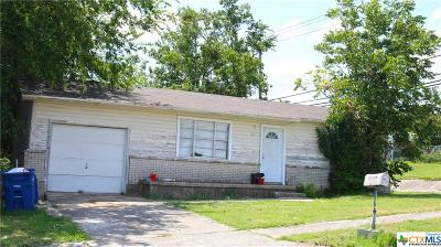 Coryell County, Falls County, McLennan County, Williamson County Single Family Home For Sale: 319 Elm Street