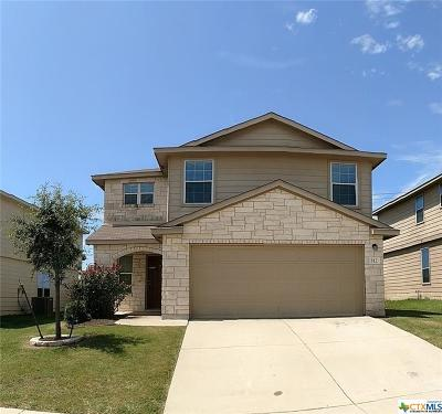 Killeen TX Single Family Home For Sale: $174,000