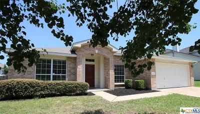 Harker Heights Single Family Home For Sale: 114 E Iowa Drive
