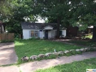 Coryell County, Falls County, McLennan County, Williamson County Single Family Home For Sale: 2618 Cumberland Avenue