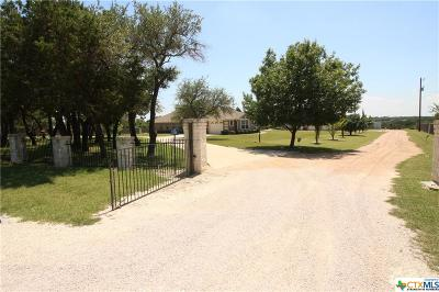 Copperas Cove, Kempner Single Family Home For Sale: 1284 County Road 4765