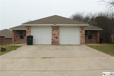 Killeen Multi Family Home For Sale: 605 Gilmer Street