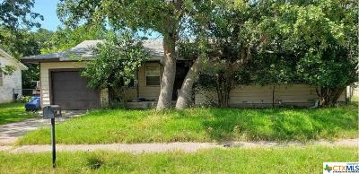 Coryell County, Falls County, McLennan County, Williamson County Single Family Home For Sale: 2510 Live Oak Drive