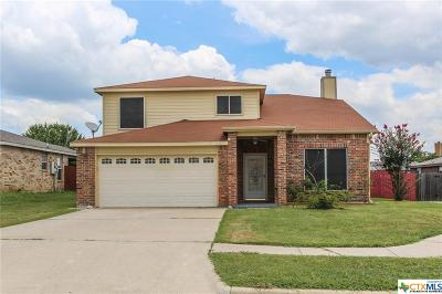 Killeen Single Family Home For Sale: 4504 Paintbrush Drive