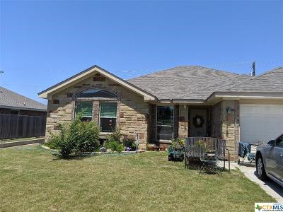Copperas Cove Single Family Home For Sale: 3617 Settlement Road