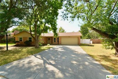 Harker Heights Single Family Home Pending: 1612 Antelope Trail