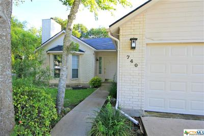 New Braunfels Single Family Home For Sale: 740 Vista Parkway Parkway