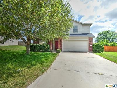 Harker Heights Single Family Home For Sale: 3059 Rain Dance Loop