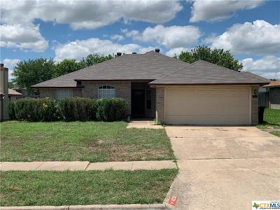 Killeen Single Family Home For Sale: 4213 Telluride Drive