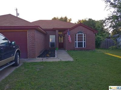 Copperas Cove Single Family Home For Sale: 303 Rodeo Circle