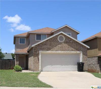 Killeen Single Family Home For Sale: 3411 Regency Drive