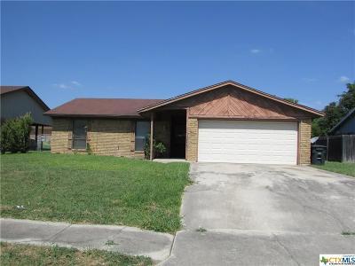 Killeen Single Family Home For Sale: 1709 Moonlight Drive