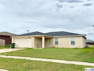 Killeen Single Family Home For Sale: 4007 Waterproof