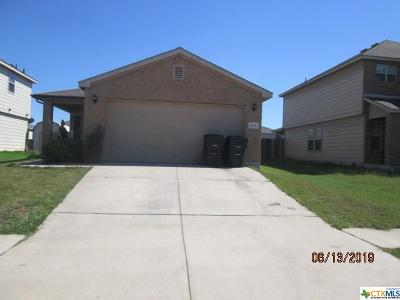 Killeen Single Family Home For Sale: 5406 Capricorn Loop