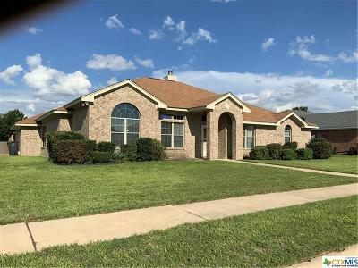 Killeen Single Family Home For Sale: 6000 Lolly Loop