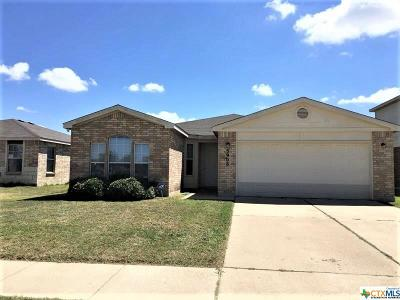 Killeen Single Family Home For Sale: 5906 Horne Drive