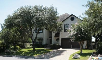 New Braunfels Single Family Home For Sale: 2725 Morning Moon