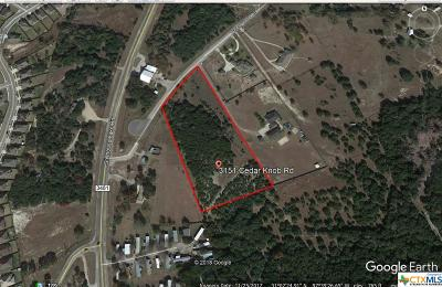 Harker Heights Residential Lots & Land For Sale: 3121 & 3151 Cedar Knob Circle