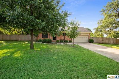 Belton Single Family Home For Sale: 5960 Gavin Ridge Road