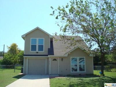 Killeen Single Family Home For Sale: 2110 Caprice Drive