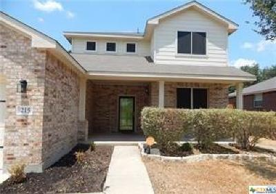 Harker Heights Single Family Home For Sale: 215 Tribal Trail