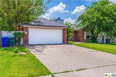Copperas Cove TX Single Family Home For Sale: $129,900