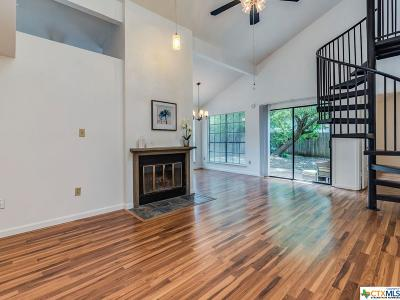 Hays County Condo/Townhouse For Sale: 1203 Hazelton Street #A